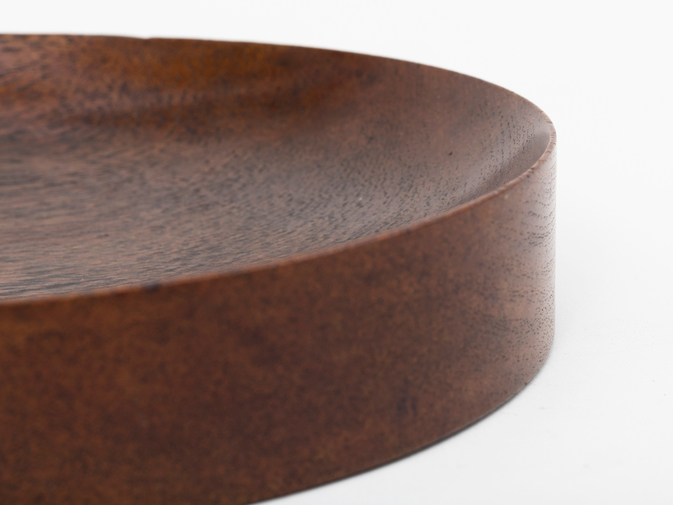 Walnut Catchall by Nanny Still, image 4