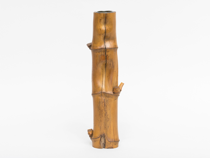 Bamboo Vase with original box, image 1