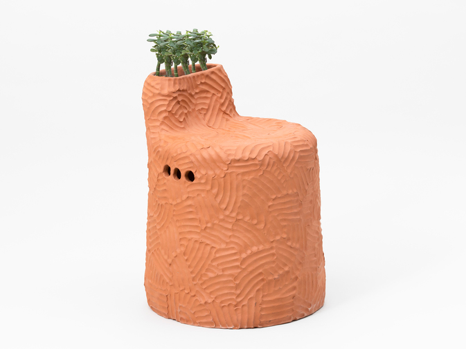 "Chris Wolston ""El Bosque Plant Chair"", image 1"