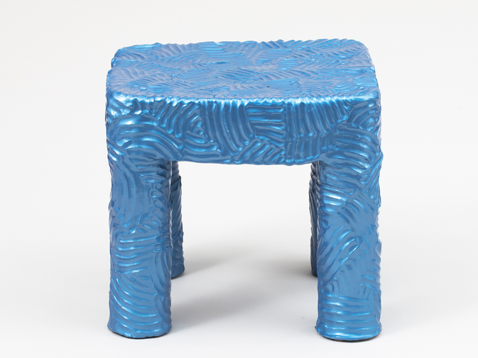 Chris Wolston Blue Side Table, image 2