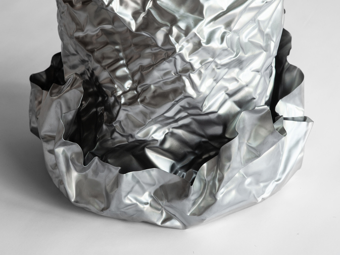 Christopher Prinz Wrinkled Outdoor Planter, image 2
