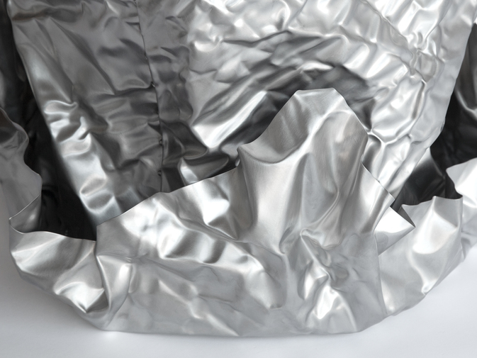 Christopher Prinz Wrinkled Outdoor Planter, image 5