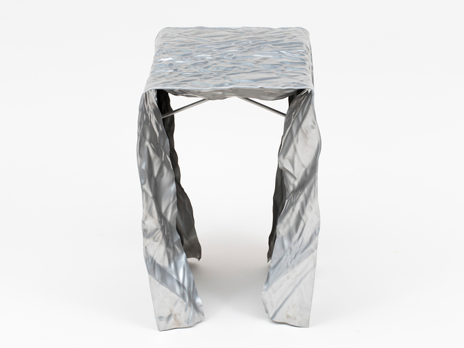 Christopher Prinz Wrinkled Outdoor Stool, image 2