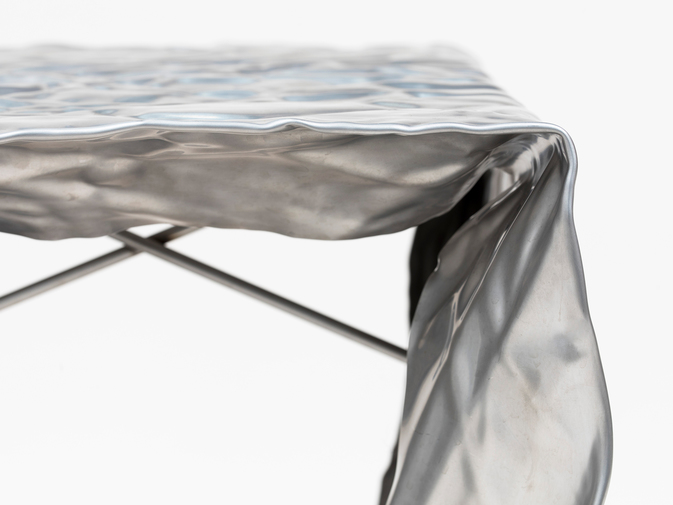 Christopher Prinz Wrinkled Outdoor Stool, image 3