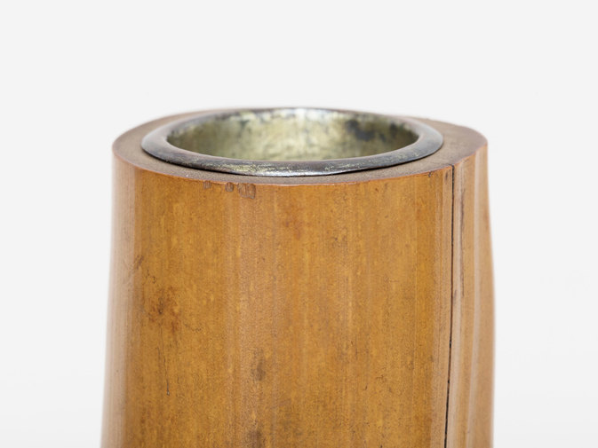 Bamboo Vase with original box, image 4