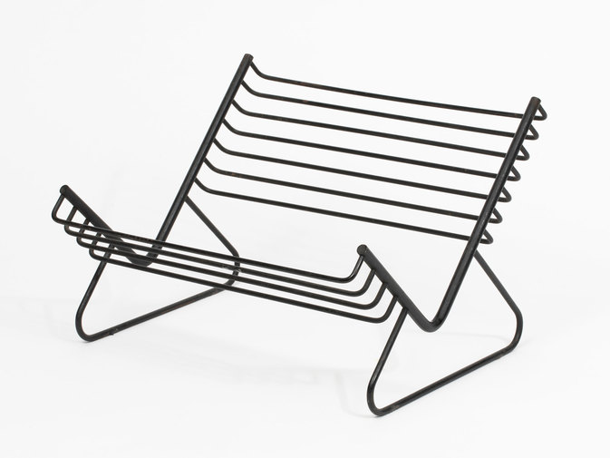Carl Auböck Iron Book Stand, image 1