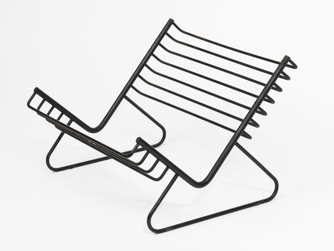 Carl Auböck Iron Book Stand, image 2