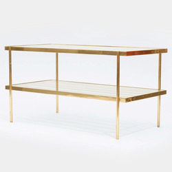 Tile brass side tables patrick parrish thumb