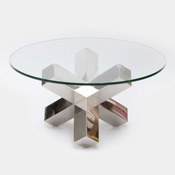 Tile glass top table patrick parrish thumb