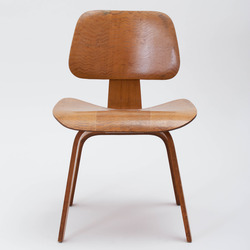 Tile eames wood chair  thumb