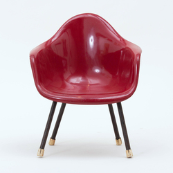 Tile eames style childrens chair 2