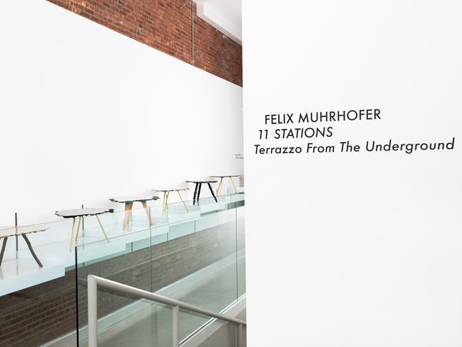 Felix Muhrhofer, 11 Stations: Terrazzo From the Underground, image 1