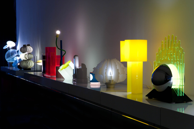 Rad Light: The Collection of Jim Walrod, Radical Italian Lighting, image 8