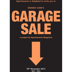 Tile garage sale