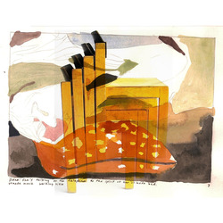 Tile apples and orangements